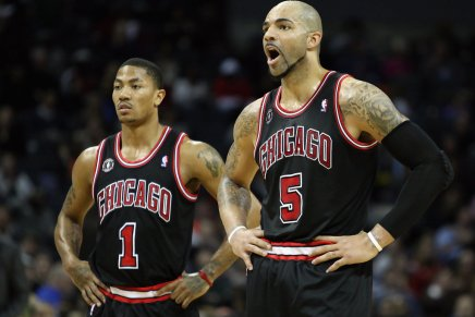 Throwback: Rose scores 42-points in Bulls win over Spurs