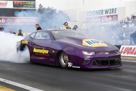 Vincent Nobile loses Pro Stock ride