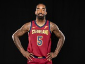 Cleveland Cavaliers swingman J.R. Smith during the team's Media Day