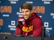 Sharpshooter Kyle Korver during the Cleveland Cavaliers Media Day