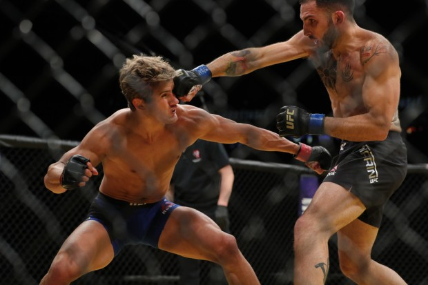 MMA fighter Sage Northcutt fighting at UFC 200 against Enrique Marin