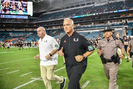 Hurricanes head coach Mark Richt retires