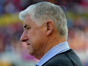 Former Seattle Sounders FC Head Coach Sigi Schmid looks on against the Real Salt Lake