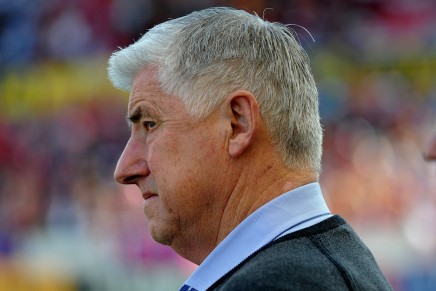 Soccer coach Sigi Schmiddies