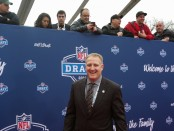North Dakota State head coach Chris Klieman attends the 2016 NFL Draft