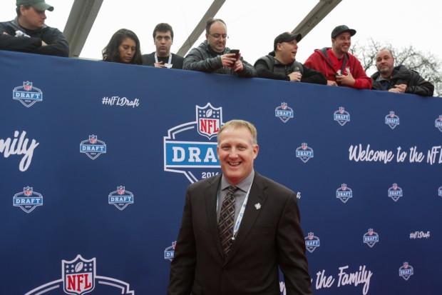 North Dakota State head coach Chris Klieman attends the 2016 NFL Draft
