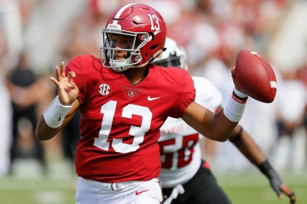 Tide's Tagovailoa leaves SEC Championship withinjury