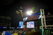 250sx rider Colt Nichols winning the 2019 season-opening Anaheim race
