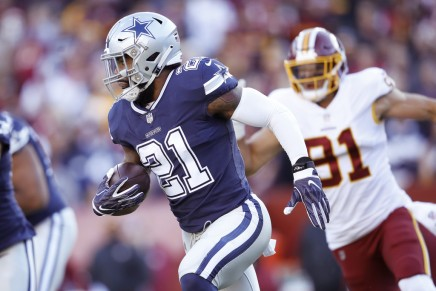 Cowboys pick in 35th playoff win overSeahawks