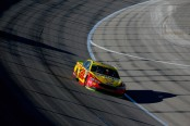 Monster Energy NASCAR Cup Series driver Joey Logano races in the Hollywood Casino 400