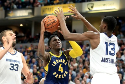Oladipo out for season with ruptured quad