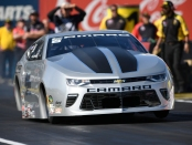 Pro Stock driver Chris McGaha racing on Sunday at the 2018 NHRA Arizona Nationals