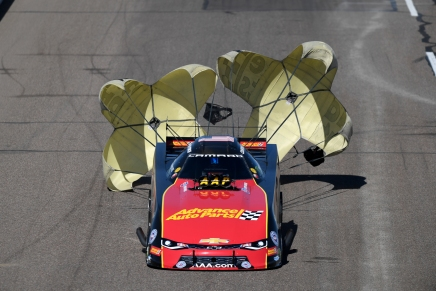 No Funny Car repeat winner at the NHRA Arizona Nationals this year