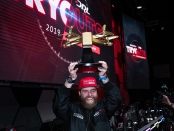 Drone pilot Phluxy after winning the Swatch DRL contract in Las Vegas