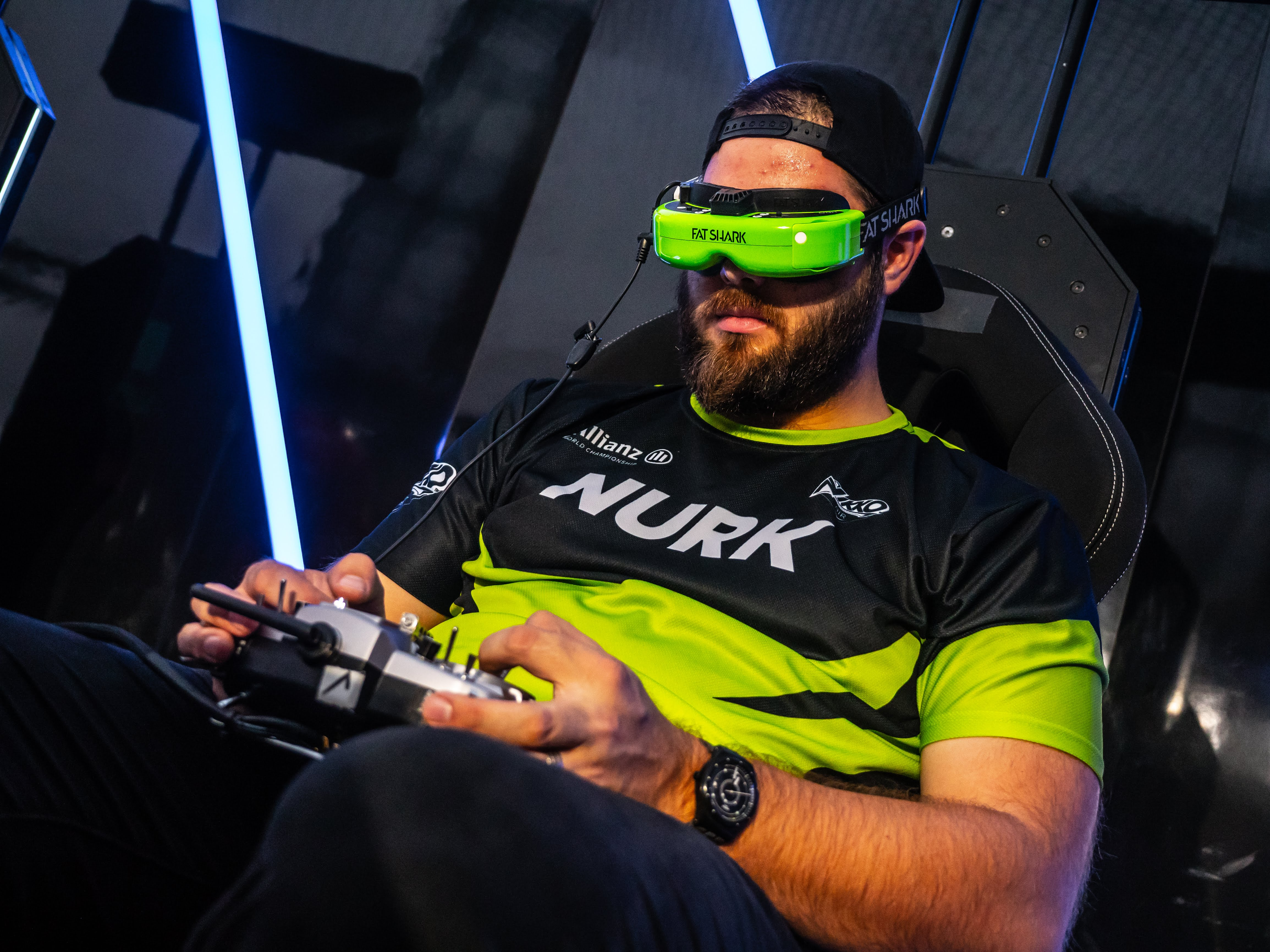 Allianz DRL Champion Nurk competing in a DRL event