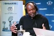 Former Dallas Cowboys running back Emmitt Smith attends SiriusXM at Super Bowl LII Radio Row