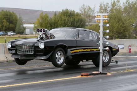 Laughlin's No Prep car illegal for Outlaw Armageddon