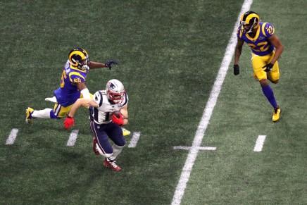 Patriots defeat Rams in Atlanta in low-scoringcontest