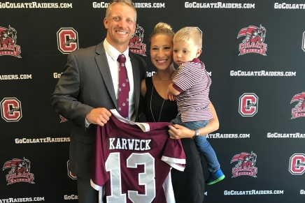 Karweck realized dream as Colgate head coach