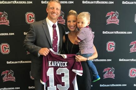 Karweck realized dream as Colgate headcoach