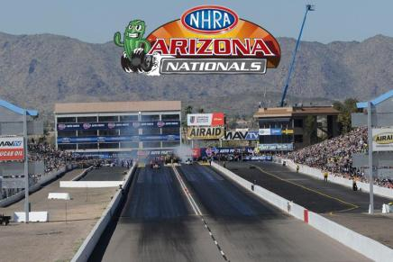 Isbell withdraws from 2019 NHRA ArizonaNationals