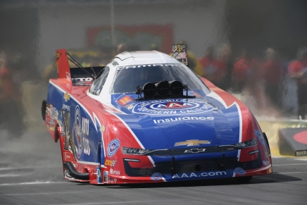 Hight is the provisional Funny Car leader at the 2019 Gatornationals