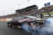 Pro Stock driver Bo Butner racing on Sunday at the 2019 Amalie Motor Oil NHRA Gatornationals