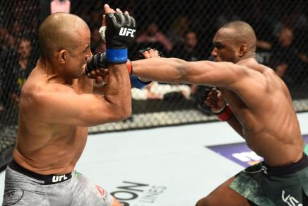 Usman defeats Woodley via unanimous decision at UFC235