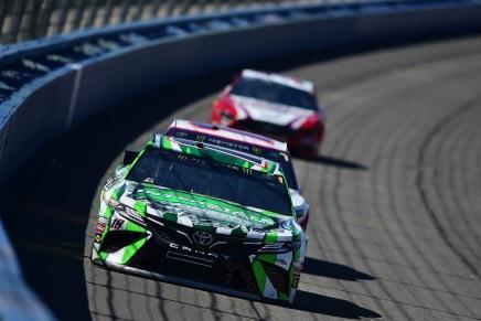 Busch wins 200th NASCAR race at the Auto Club400