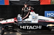 IndyCar driver Josef Newgarden after winning the Firestone Grand Prix of St. Petersburg