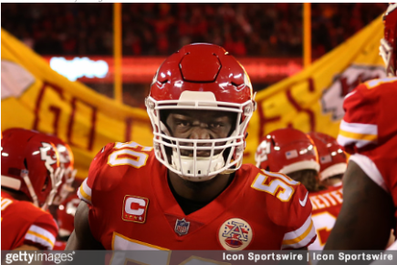 Chiefs release Justin Houston after eightyears