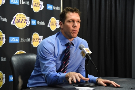 Lakers, head coach Luke Walton part ways