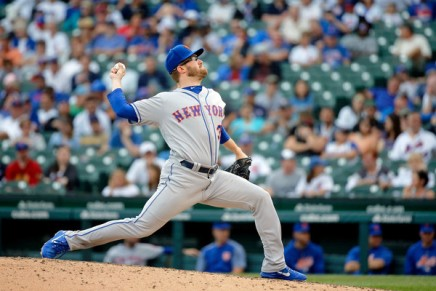 Mets' Rhame disciplined after throwing at Phillies'Hoskins