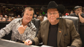 "Jim Ross and Jerry ""The King"" Lawler"