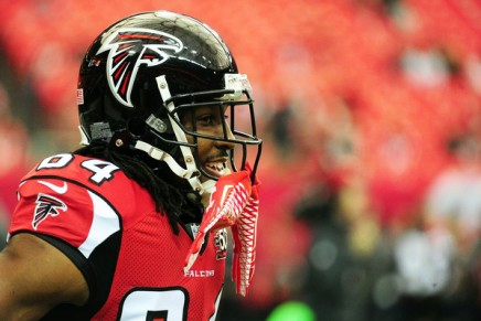 Former Falcons WR White arrested on April 12th