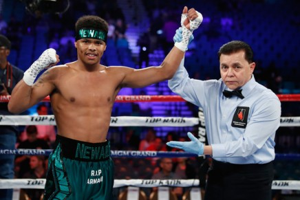 Shakur Stevenson's Miami Beach brawl video released