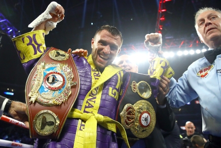 Lomachenko knocks out Crolla in fourth-round in Los Angeles