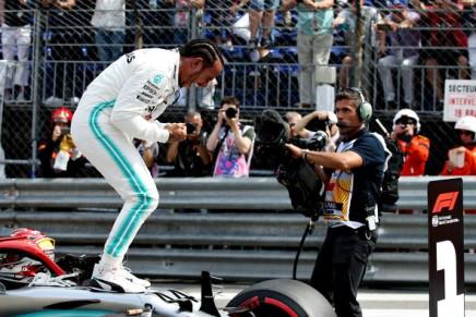 Hamilton wins third event atMonaco