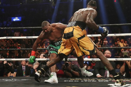 Wilder KO's Breazeale in first-round in Brooklyn