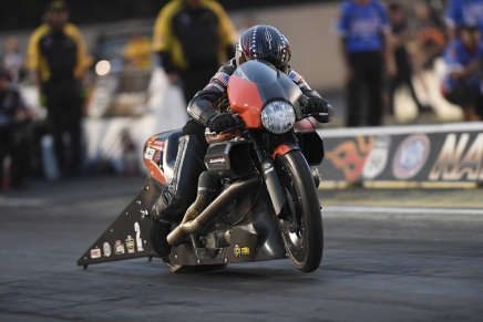 Krawiec is the provisional PSM leader at the 2019 Route 66 Nationals