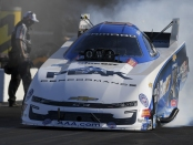 Funny Car legend John Force racing on Saturday at the NHRA Thunder Valley Nationals