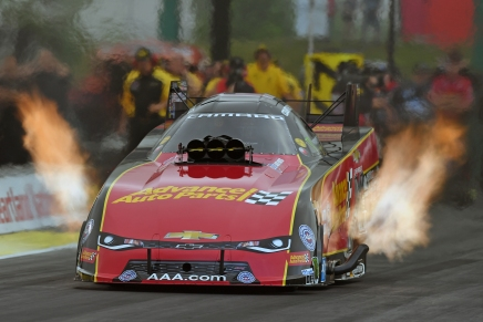 No repeat Funny Car winner in Topeka with Force's retirement