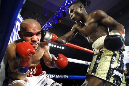 Commey KO's Beltrán in 8th-round at Pechanga Resort &Casino