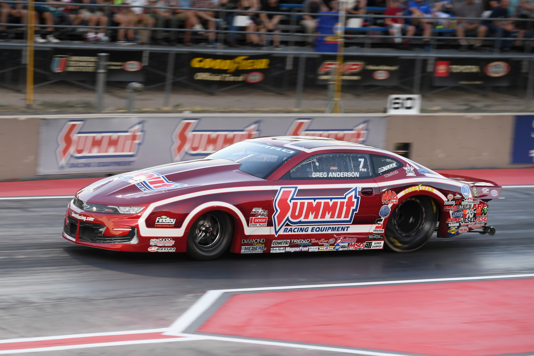 Pro Stock driver Greg Anderson 2019 Dodge Mile-High Nationals presented by Pennzoil