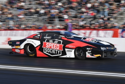 NHRA's Laughlin not competing at 2019 Outlaw Armageddon
