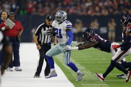 Lawsuit claims Cowboys, police covered up Zeke's 2017crash