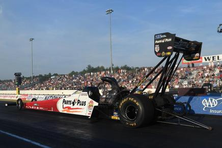 Millican leads Top Fuel Friday at 2019 New England Nationals