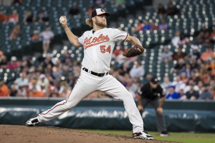 Red Sox acquires Orioles' Andrew Cashner