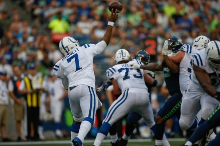 Colts' Brissett posts questionable tweet about outer space