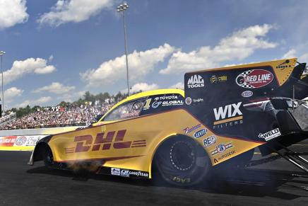 Todd retains No. 1 qualifier in Funny Car at 2019 New England Nationals